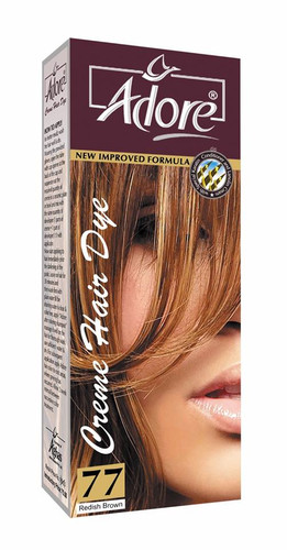 Adore Cream Hair Dye 77 Radish Brown Rs 150 Only Lowest Price on Livewell.pk