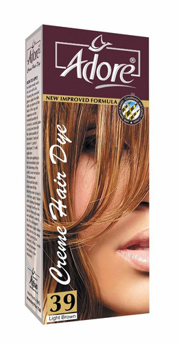 Adore Cream Hair Dye 39 Light Brown Rs 150 Only Lowest Price on Livewell.pk