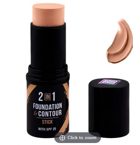 DMGM 2-In-1 Foundation & Contour Stick 453 Yellow Opal, SPF 25 buy online in pakistan on -livewell.pk