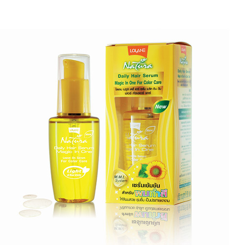 Lolane Natura Daily Hair Serum Magic in One Color Care 50 ml Buy Online In Pakistan Best Price