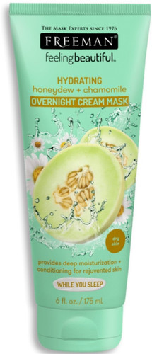 Freeman Feeling Beautiful Facial Sleeping Mask, Honeydew & Chamomile