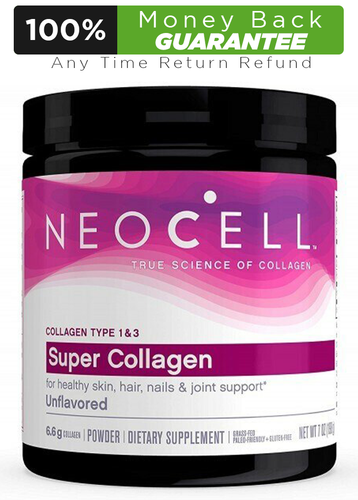 NeoCell Super Collagen Powder – 6,600mg Collagen Types 1 & 3 - Unflavored - 7 Ounces Buy online in Pakistan