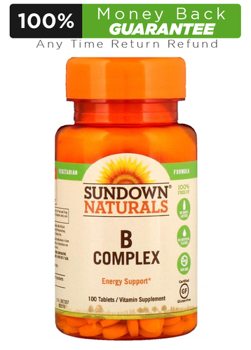 Sundown Natural B Complex 100 Tablets Buy online in Pakistan on LiveWell.pk