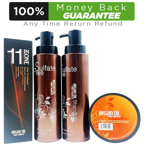 Argan Oil from Morocco Hair Treatment Kit Buy online in Pakistan on LiveWell.pk
