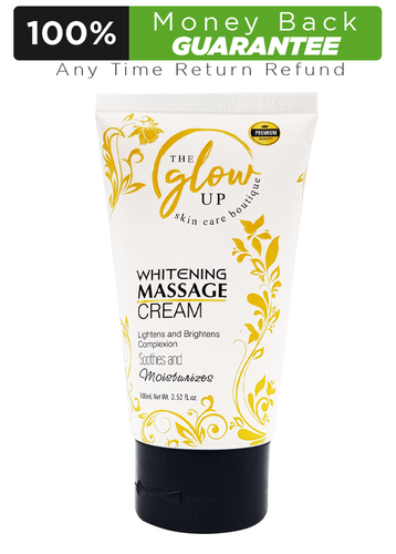 The Glow Up Whitening Massage Cream 100ml Buy online in Pakistan on LiveWell.pk