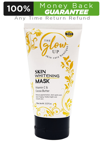 The Glow Up Skin Whitening Mask, Vitamin C & Cocoa Butter 100ml Buy online in Pakistan on LiveWell.pk