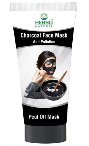 Herbo Natural Charcoal Face Peel Off Mask - 100ml Buy online in Pakistan on LiveWell.pk
