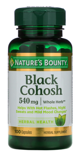 Nature's Bounty Black Cohosh 540mg - 100 Capsules Buy online in Pakistan on LiveWell.pk