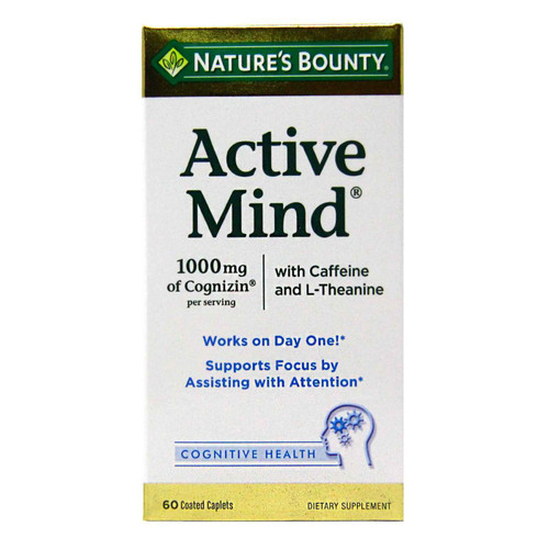 Nature's Bounty Active Mind - 60 Coated Caplets Buy online in Pakistan on LiveWell.pk