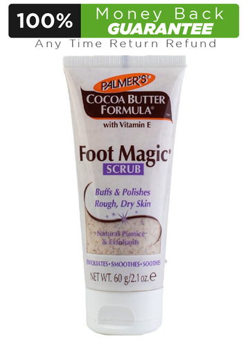 Palmer's Cocoa Butter Formula Foot Magic Scrub 60g Buy online in Pakistan on LiveWell.pk.