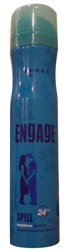 Engage Women Bodylicious Deo Spray (SPELL) 150 ML  shop online in Pakistan