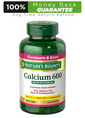 Nature's Bounty Calcium 600+ D (Caltrate+D) High Potency Buy online in Pakistan on LiveWell.pk