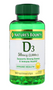 Nature's Bounty D3 50mg ( 2000IU ) - 150 Softgels Buy online in Pakistan on LiveWell.pk