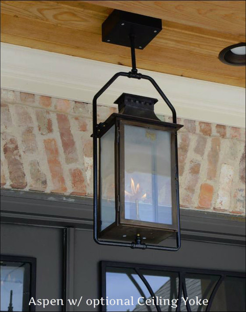 St. James Aspen Copper Lantern
