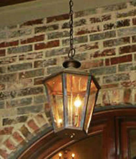 St. James Biloxi Copper Outdoor Lantern