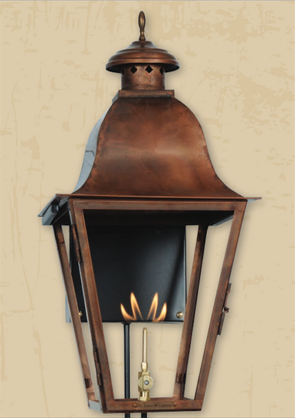 St. James Quebec Copper Outdoor Lantern