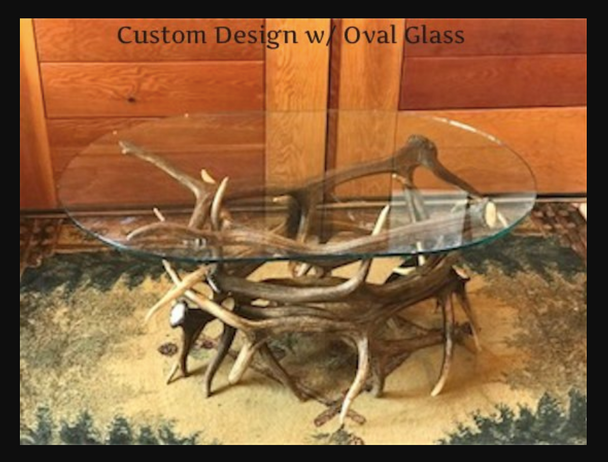 Elk Antler Coffee Table