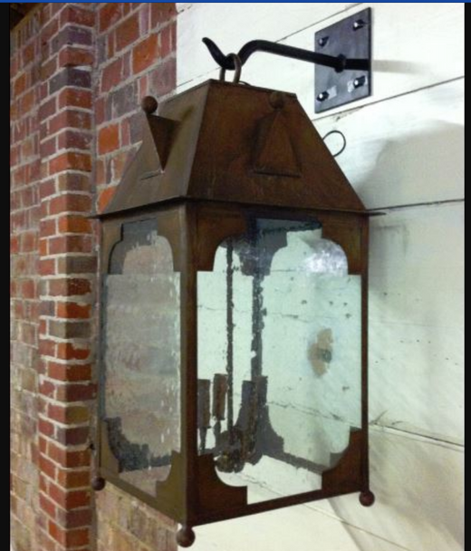 St. James Sanctuary Copper Outdoor Lantern