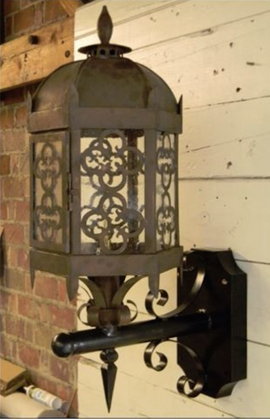 St. James Bordeaux Copper Outdoor Lantern