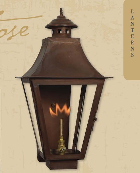 Flame Shields For Outdoor Gas Lanterns