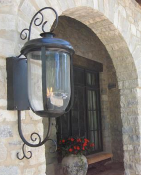 St. James South Beach Copper Outdoor Lantern