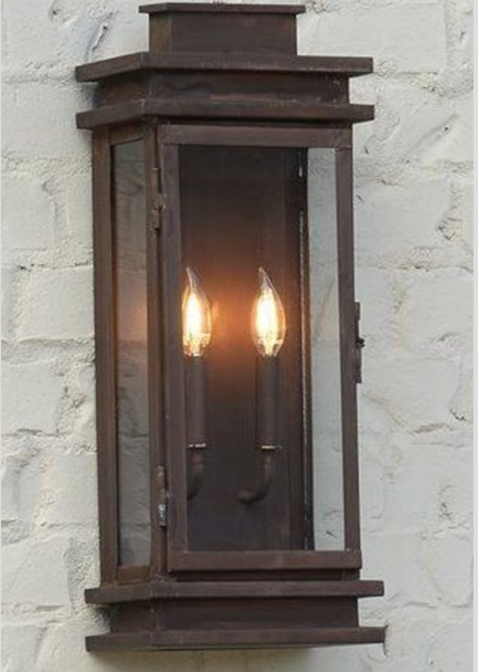 St. James Somerset Copper Outdoor Lantern