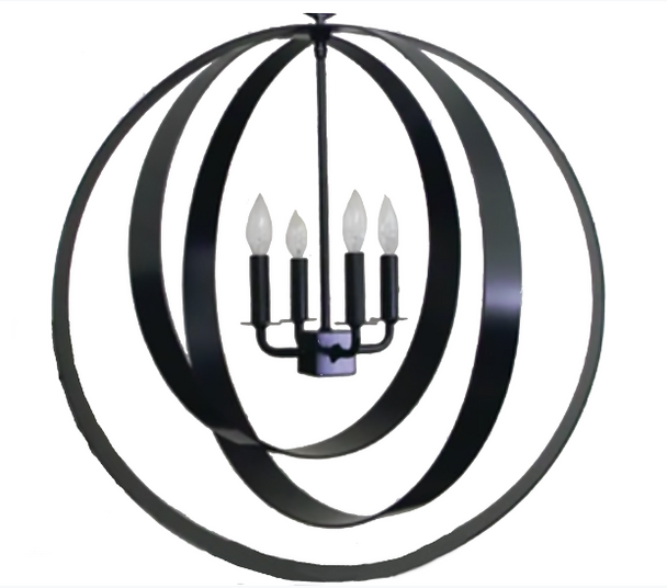 St. James Diablo Steel Chandelier