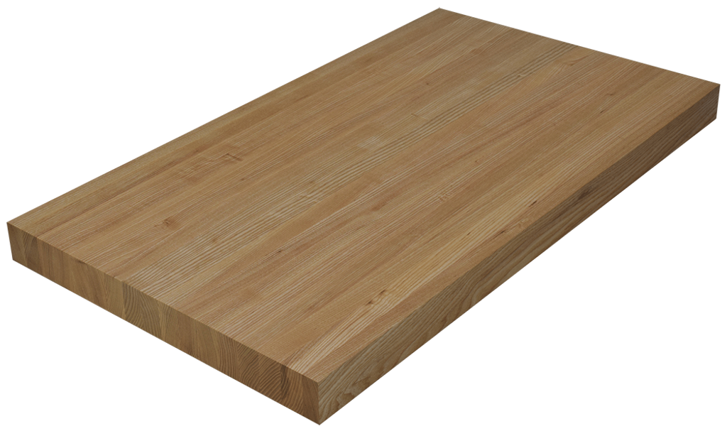 Ash Edge Grain Butcher Block Countertop.