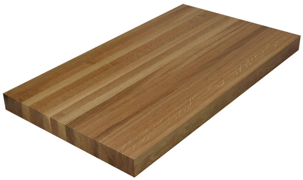 White Oak Edge Grain Butcher Block Countertop.