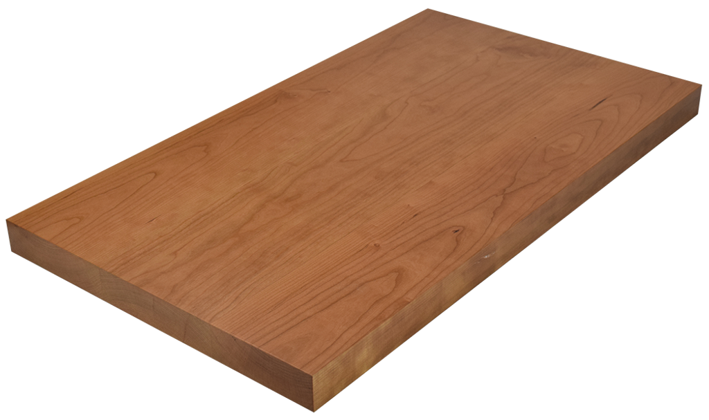 Clear Cherry Wide Plank (Face Grain) Countertop.