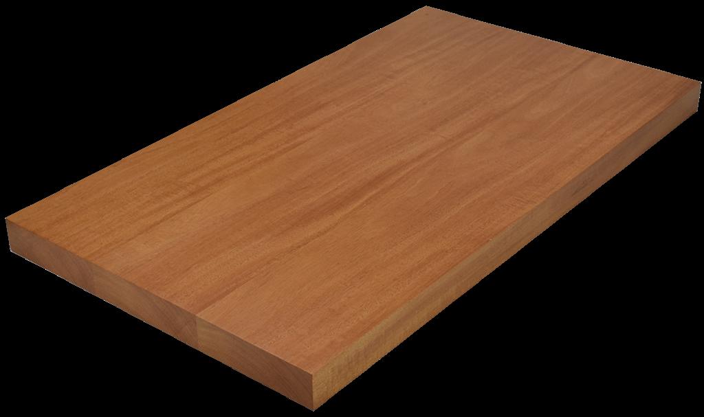 Genuine Mahogany Wide Plank (Face Grain) Countertop.