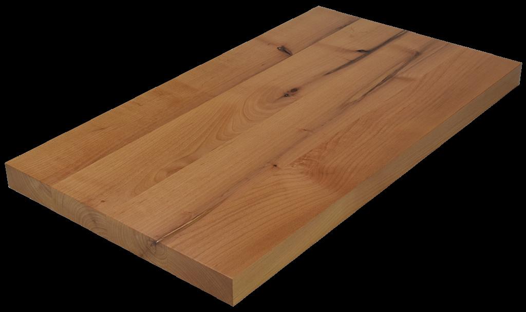 Knotty Alder Wide Plank (Face Grain) Countertop.