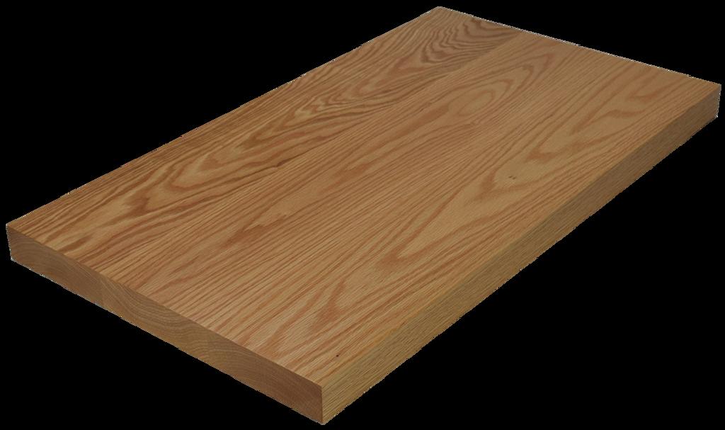 Red Oak Wide Plank (Face Grain) Countertop.