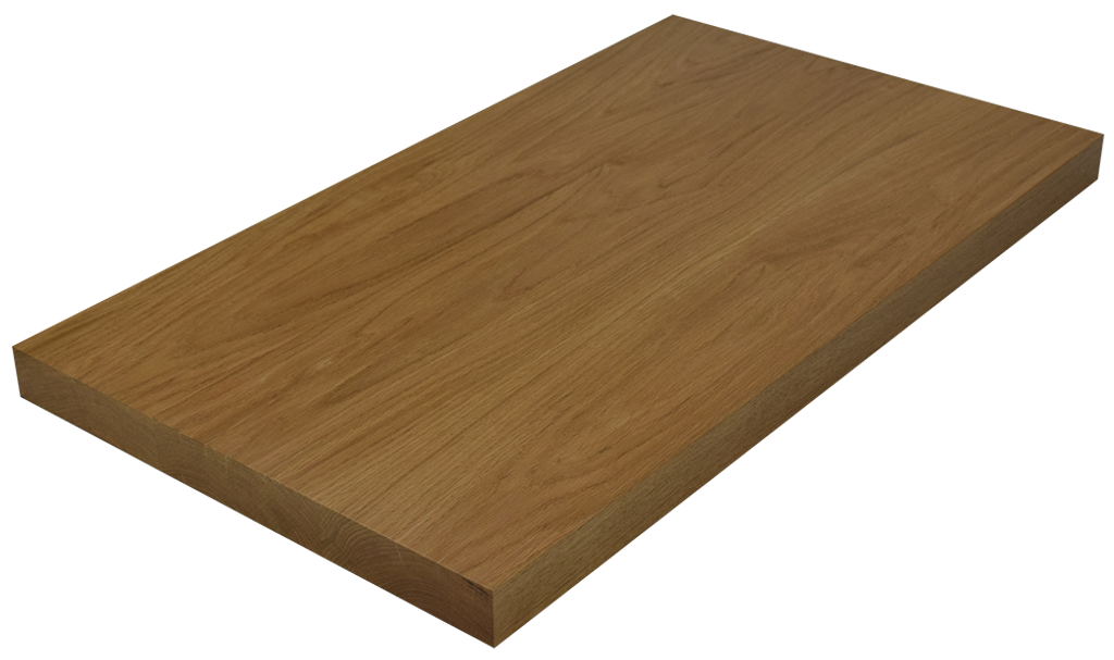 White Oak Wide Plank (Face Grain) Countertop