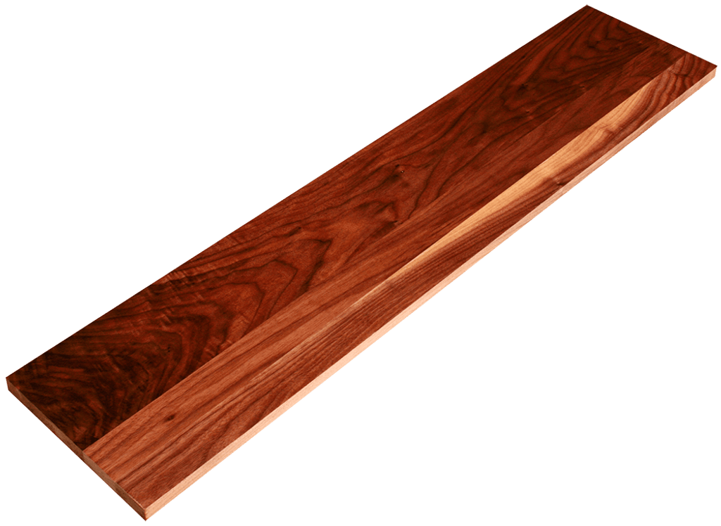 Clear Walnut Stair Riser