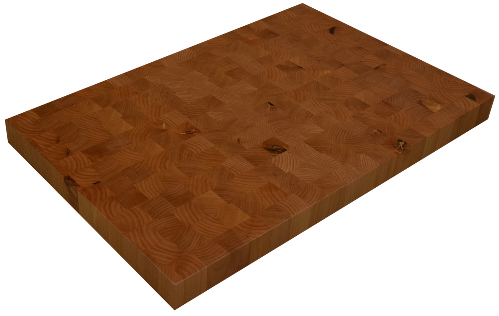 Knotty Alder End Grain Butcher Block Countertop.
