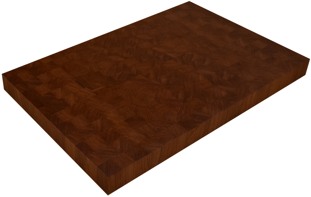 Brazilian Cherry (Jatoba) End Grain Butcher Block Countertop.