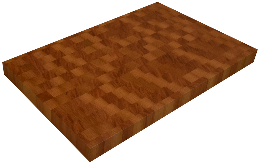 Genuine Mahogany End Grain Butcher Block Countertop.