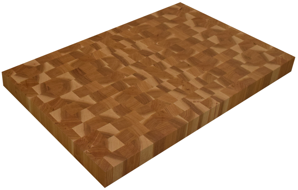 Hickory End Grain Butcher Block Countertop.