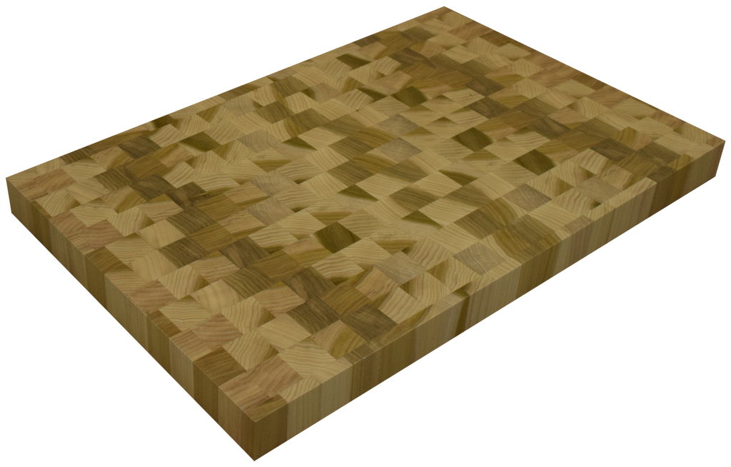 Poplar End Grain Butcher Block Countertop.