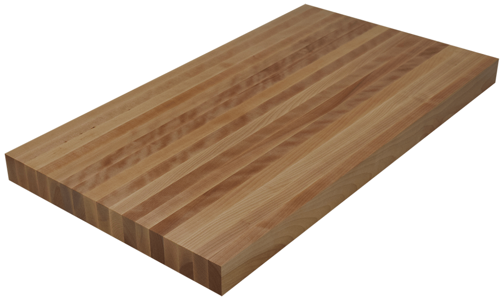 Birch Edge Grain Butcher Block Countertop.