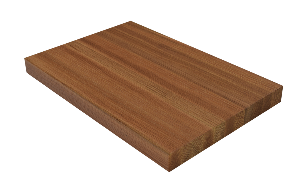 White Oak Edge Grain Butcher Block Cutting Board