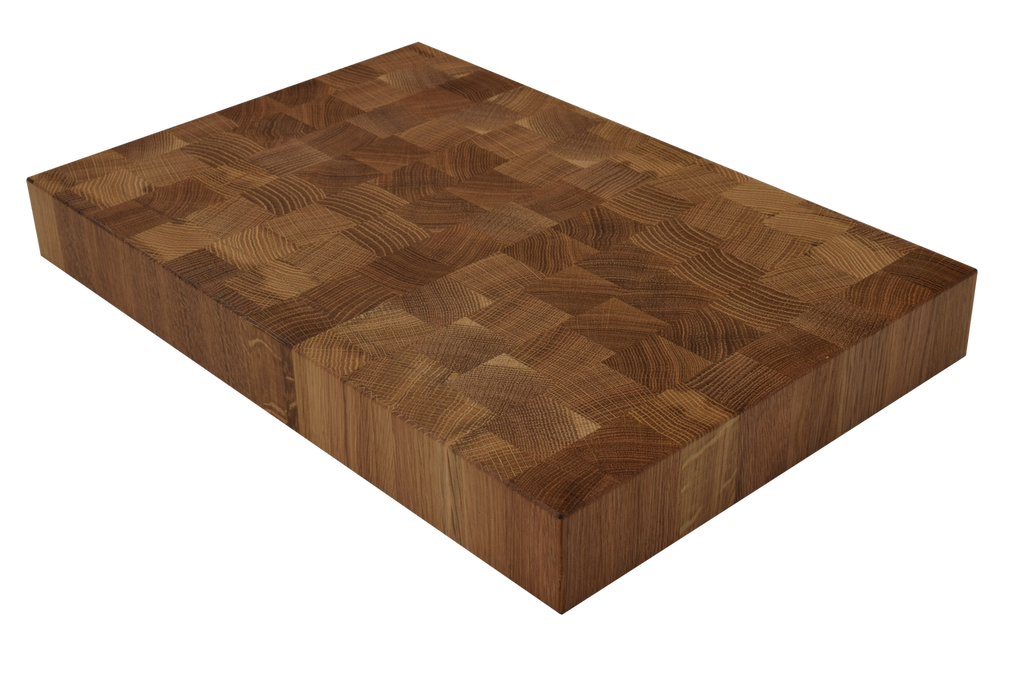 White Oak End Grain Butcher Block Cutting Board.
