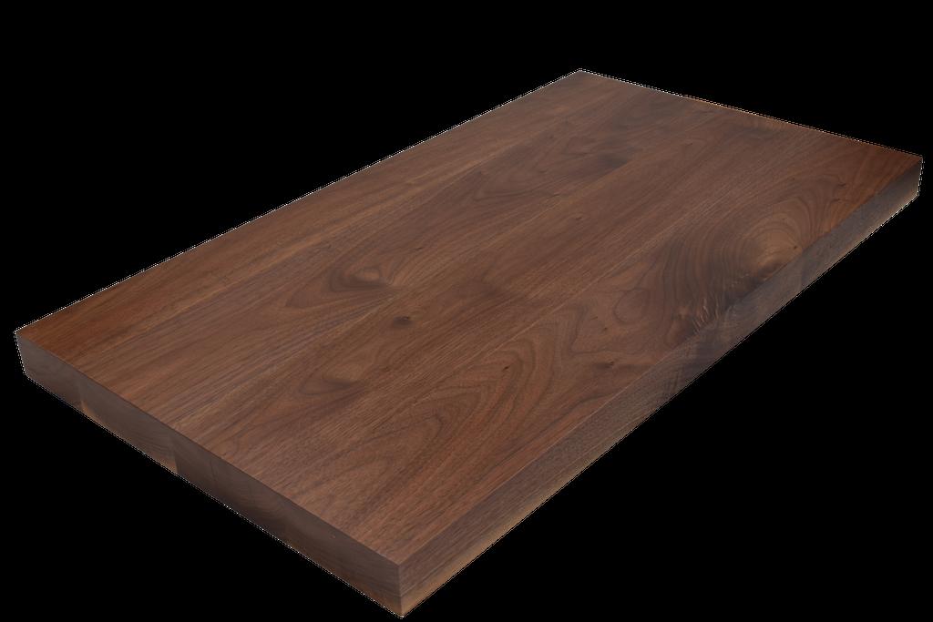 Premium Walnut Wide Plank (Face Grain) Countertop.