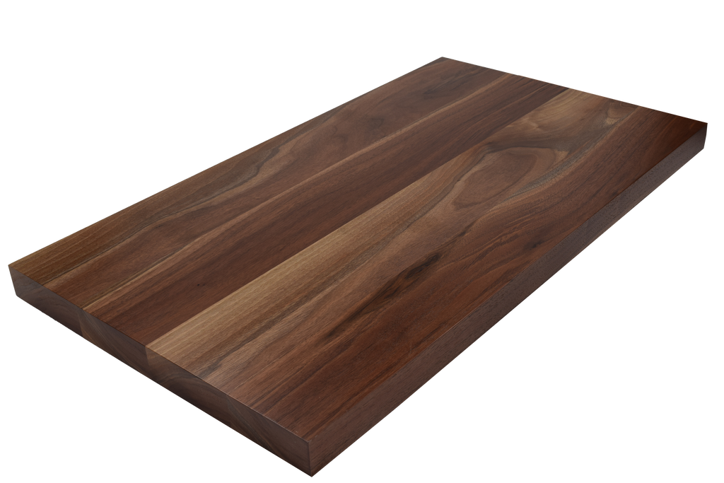 Walnut Wide Plank (Face Grain) Countertop