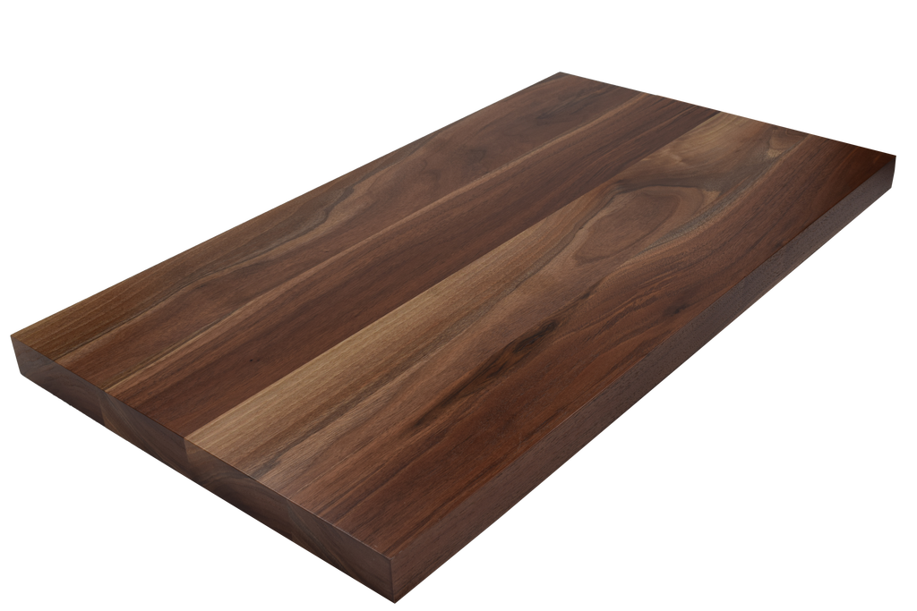 Walnut Wide Plank (Face Grain) Countertop.