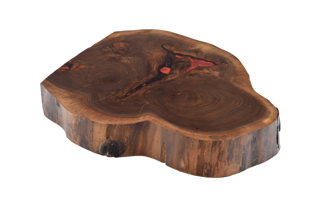 Walnut Live Edge Round #327.