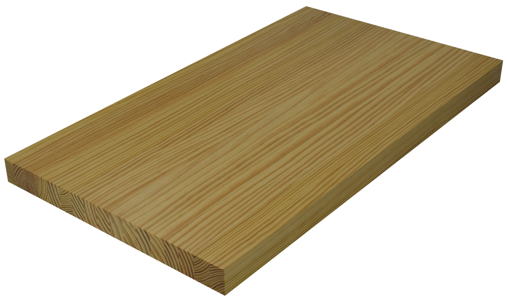 Yellow Pine Edge Grain Butcher Block Countertop.