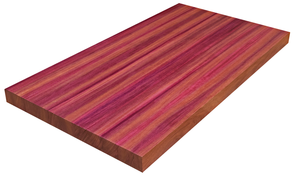 Purpleheart Edge Grain Counter Top