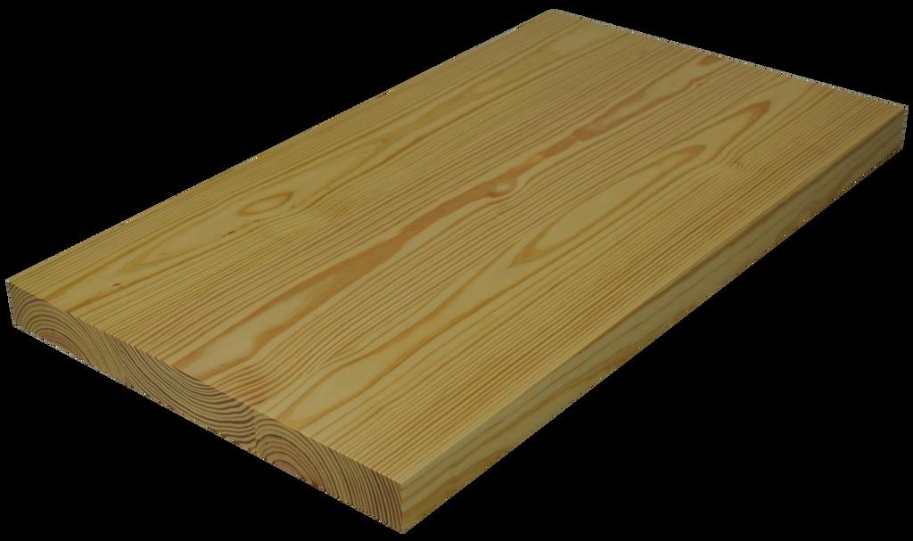 Yellow Pine Wide Plank (Face Grain) Countertop.